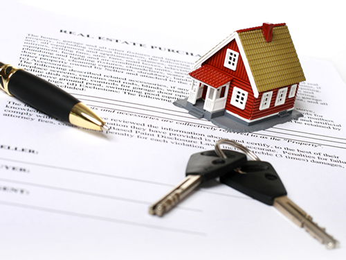 image of legal documentation for conveyancing process